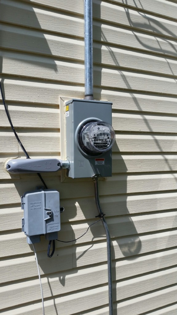 Service upgrades for House electrical service