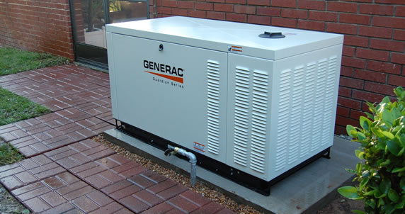 Natural Gas Generator For Home Backup Power